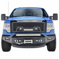 Paramount Automotive - Front LED Winch Bumper #57-0110