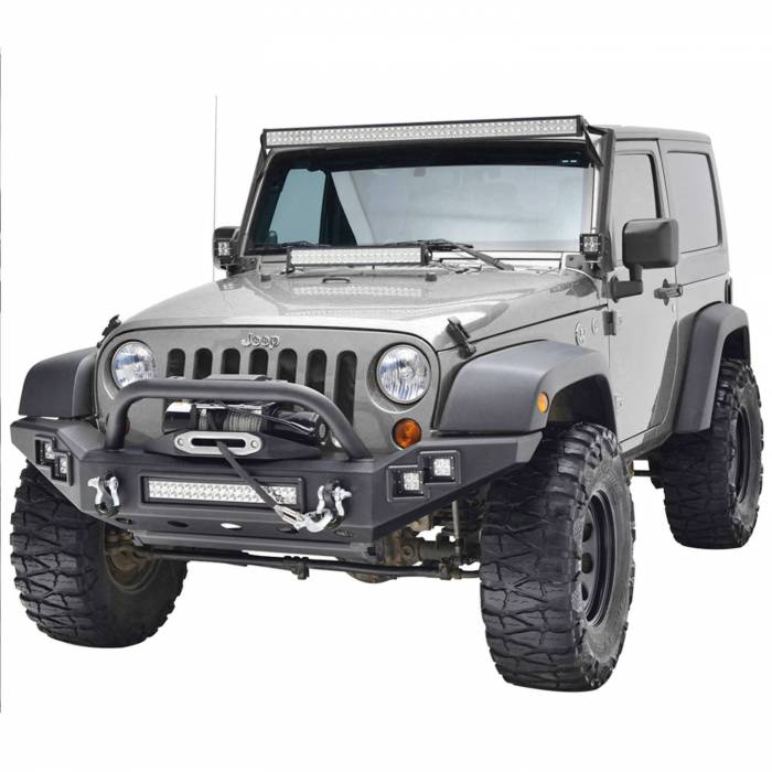 Paramount Automotive - Full-Width Front Bumper w/ LED #51-0370