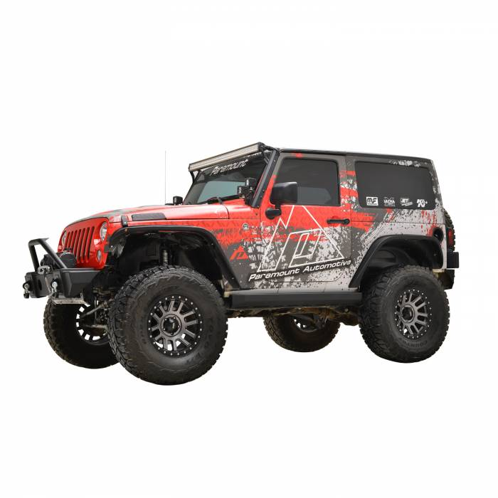 Paramount Automotive - (2 Door) R5 Canyon Offroad Rock Slider #51-0728