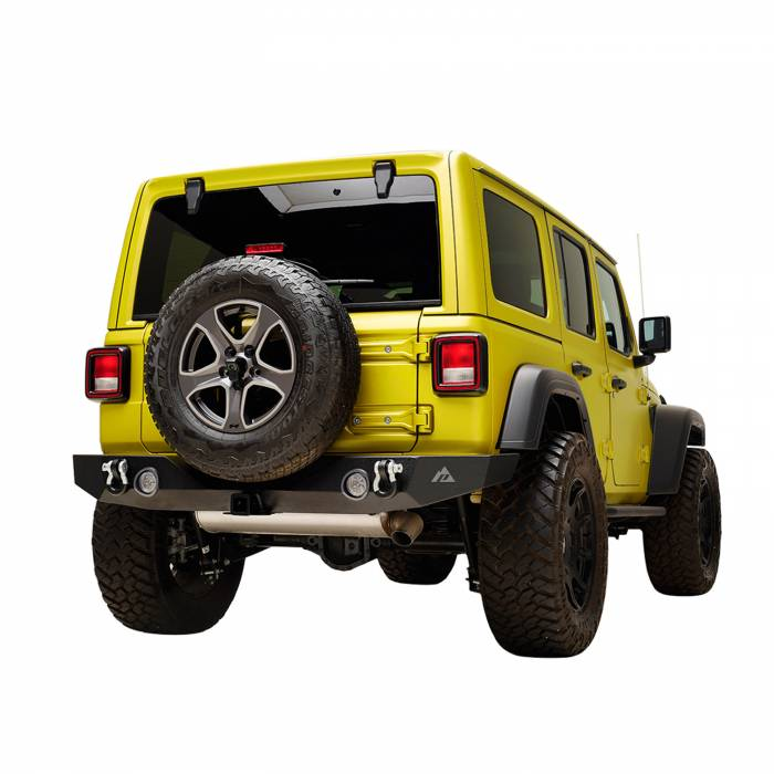 Paramount Automotive - X2 Full Width Rear Bumper with Two 12W LED Lights #51-8021L