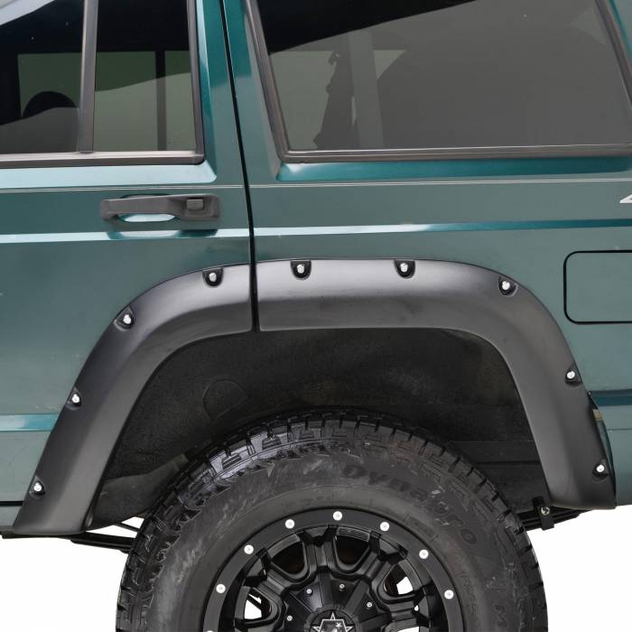 Paramount Automotive - ABS Rivet Style Bolt on Pocket Fender Flares #58-0306