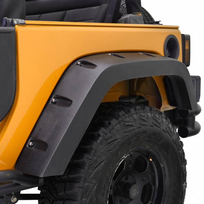 Paramount Automotive - ABS Rivet-Style Fender Flares #58-0304