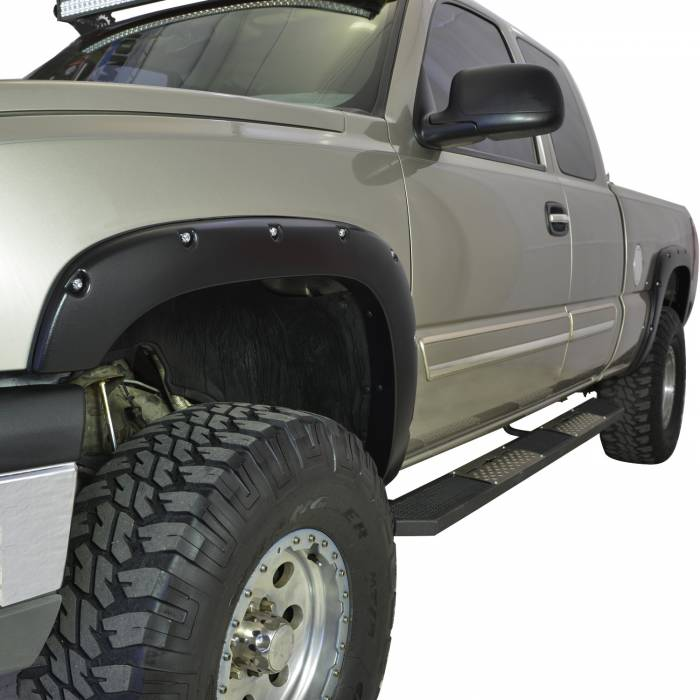 Paramount Automotive - ABS Rivet-Style Fender Flares #58-0501