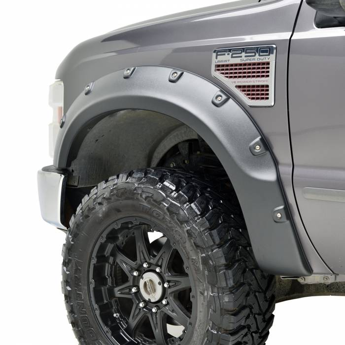 Paramount Automotive - ABS Rivet/Boss Style Fender Flares #58-0402