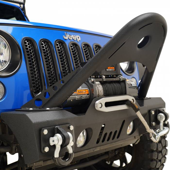 Paramount Automotive - Stinger Front Bumper with OE Fog Light Housing #51-8025