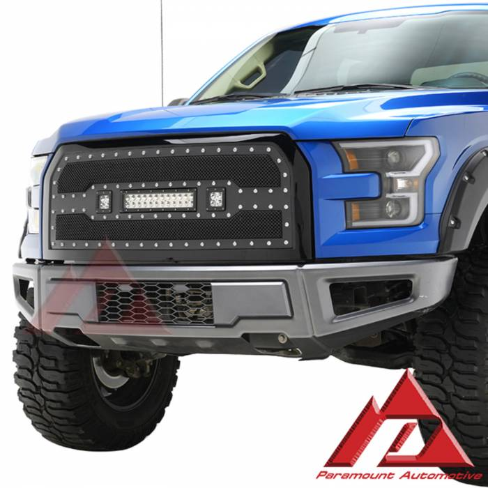 Paramount Automotive - Raptor-Style Front Bumper #57-0182