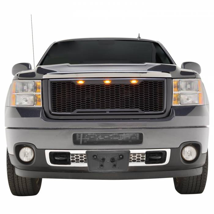 Paramount - ABS LED Matte Black Impulse Packaged Grille #41-0182MB