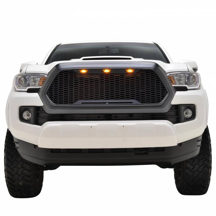 X-T16TAAG000 - ABS LED Matte Black Impulse Packaged Grille #41-0171MB