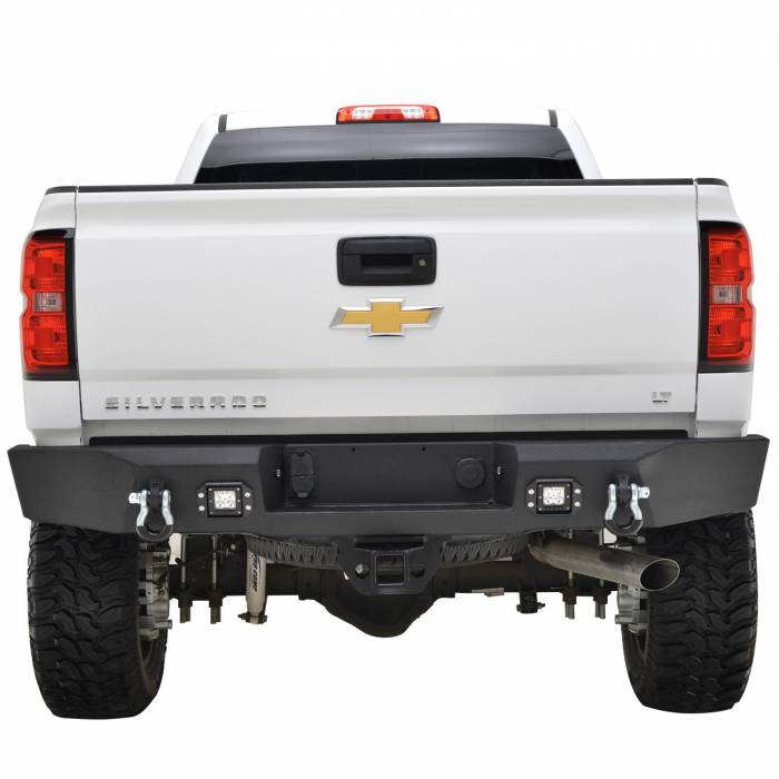 Paramount - Rear LED Winch Bumper #57-0305