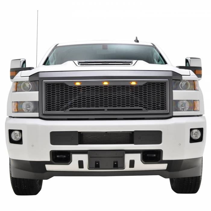 Paramount - ABS LED Matte Black Impulse Packaged Grille #41-0190MB