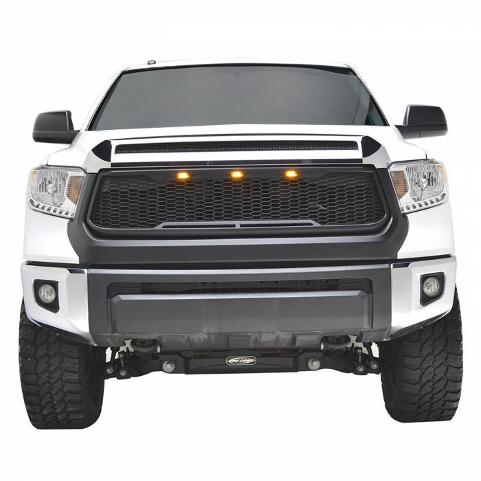 Paramount - ABS LED Matte Black Impulse Packaged Grille #41-0170MB