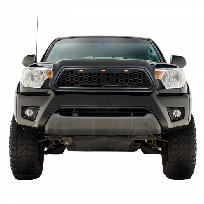 Paramount - ABS LED Matte Black Impulse Packaged Grille #41-0201MB