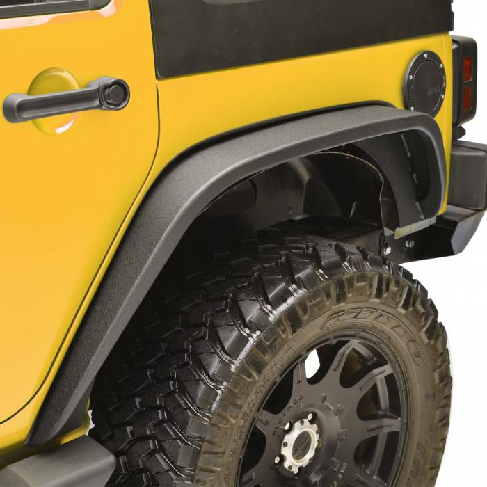 Paramount - 07-18 Jeep Wrangler JK R5 Canyon Off-Road Rear Fender Flares