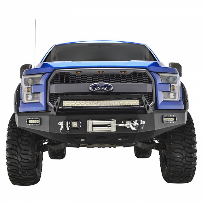 Paramount - 15-19 Ford F-150 LED Front Winch Bumper