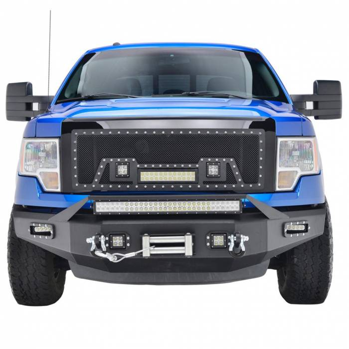 Paramount - 09-14 Ford F-150 LED Front Winch Bumper