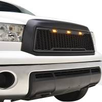 Paramount Automotive - ABS LED Matte Black Impulse Packaged Grille #41-0169MB - Image 5