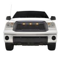 Paramount - ABS LED Metallic Charcoal Gray Impulse Mesh Packaged Grille #41-0169MCG - Image 3