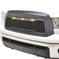 Paramount - ABS LED Metallic Charcoal Gray Impulse Mesh Packaged Grille #41-0169MCG - Image 4