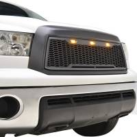 Paramount - ABS LED Metallic Charcoal Gray Impulse Mesh Packaged Grille #41-0169MCG - Image 5