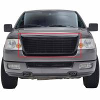 Paramount Automotive - Matte Black Aluminum Billet Packaged Grille #42-0327B - Image 3