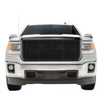 Paramount - Black Aluminum Horizontal Billet Packaged Grille #42-0832B - Image 3