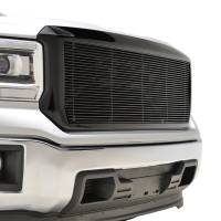 Paramount - Black Aluminum Horizontal Billet Packaged Grille #42-0832B - Image 5