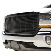 Paramount Automotive - Black Aluminum Horizontal Billet Packaged Grille #42-0835B - Image 4