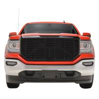 Paramount Automotive - Black Aluminum Horizontal Billet Packaged Grille #42-0838B - Image 3