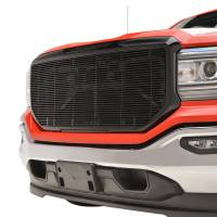 Paramount Automotive - Black Aluminum Horizontal Billet Packaged Grille #42-0838B - Image 4
