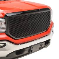 Paramount Automotive - Black Aluminum Horizontal Billet Packaged Grille #42-0838B - Image 5