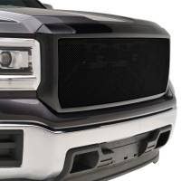 Paramount Automotive - Stainless Steel Wire Mesh Packaged Grille Black #44-0841 - Image 5