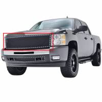 Paramount Automotive - Black Evolution Stainless Steel Wire Mesh Packaged Grille #46-0202 - Image 1