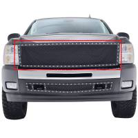 Paramount Automotive - Black Evolution Stainless Steel Wire Mesh Packaged Grille #46-0202 - Image 3