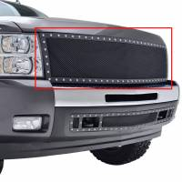 Paramount Automotive - Black Evolution Stainless Steel Wire Mesh Packaged Grille #46-0202 - Image 5