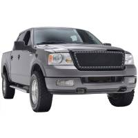 Paramount Automotive - Black Evolution Stainless Steel Wire Mesh Packaged Grille #46-0207 - Image 1