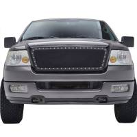Paramount Automotive - Black Evolution Stainless Steel Wire Mesh Packaged Grille #46-0207 - Image 2