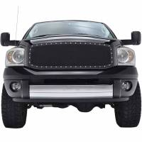 Paramount Automotive - Black Evolution Stainless Steel Wire Mesh Packaged Grille #46-0212 - Image 3