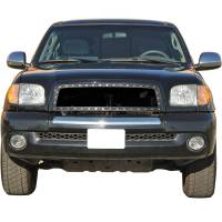 Paramount Automotive - Black Evolution Stainless Steel Wire Mesh Packaged Grille #46-0218 - Image 3
