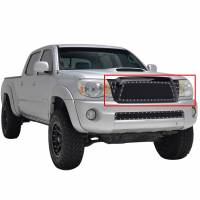 Paramount Automotive - Black Evolution Stainless Steel Wire Mesh Packaged Grille #46-0219 - Image 2