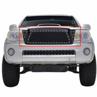 Paramount Automotive - Black Evolution Stainless Steel Wire Mesh Packaged Grille #46-0219 - Image 3