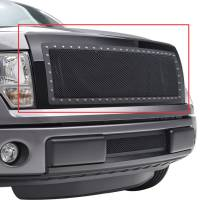 Paramount Automotive - Black Evolution Stainless Steel Wire Mesh Packaged Grille #46-0224 - Image 5