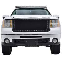 Paramount Automotive - Black Evolution Stainless Steel Wire Mesh Packaged Grille #46-0233 - Image 3