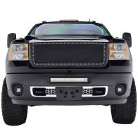 Paramount Automotive - Black Evolution Stainless Steel Wire Mesh Packaged Grille #46-0242 - Image 3