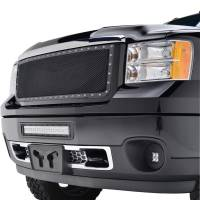 Paramount Automotive - Black Evolution Stainless Steel Wire Mesh Packaged Grille #46-0242 - Image 4
