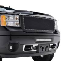 Paramount Automotive - Black Evolution Stainless Steel Wire Mesh Packaged Grille #46-0242 - Image 5