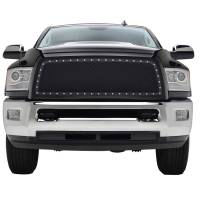 Paramount Automotive - Black Evolution Stainless Steel Wire Mesh Packaged Grille #46-0245 - Image 3