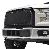 Paramount Automotive - Black Evolution Stainless Steel Wire Mesh Packaged Grille #46-0248 - Image 4