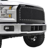 Paramount Automotive - Black Evolution Stainless Steel Wire Mesh Packaged Grille #46-0248 - Image 5