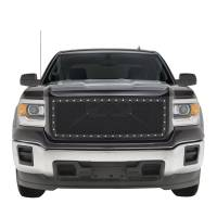 Paramount Automotive - Black Evolution Stainless Steel Wire Mesh Packaged Grille #46-0249 - Image 3