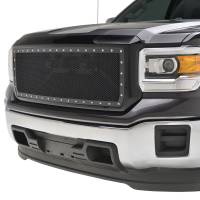 Paramount Automotive - Black Evolution Stainless Steel Wire Mesh Packaged Grille #46-0249 - Image 4